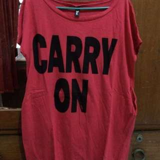[PRELOVED] Carry On T-shirt