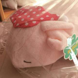 HAPPY RURU LOTTO Sleeping Pig DOLL