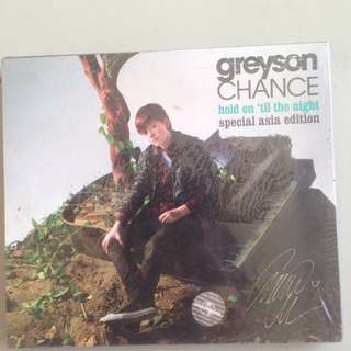 DVD Greyson Chance special Asia Edition