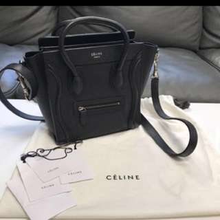 Céline luggage nano