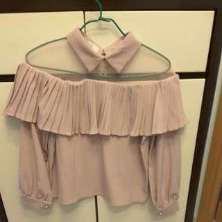 Made In Korea Pink Lase Top