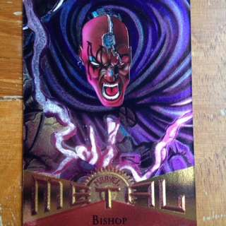 1995 Marvel Metal Base Card #2 - Bishop