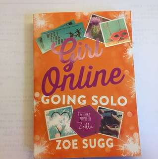 Girls online going solo book by ZOE SUGG