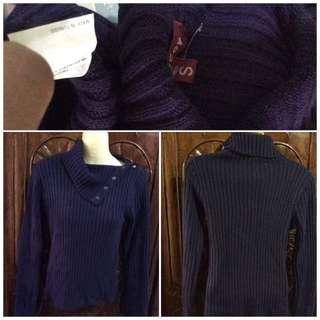 Jennyfer purple knitted