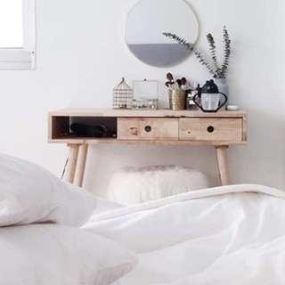 Scandinavian Design Dressing Table