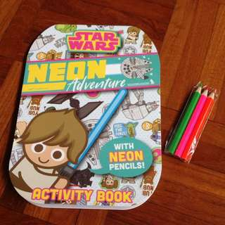 Star Wars Activity Book Set