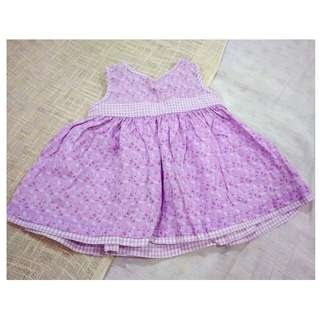 OSHKOSH PURPLE DRESS FOR 2 YRS OLD
