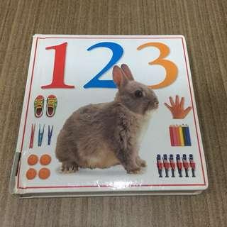 DK 123 Numbers Book