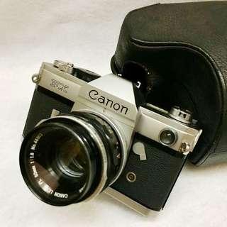 Canon FX SLR camera