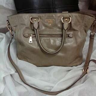 Prada Large Leather Bag
