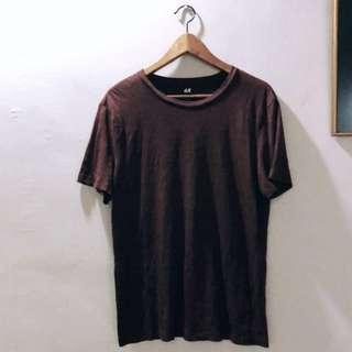 H&M Brown Basic Top