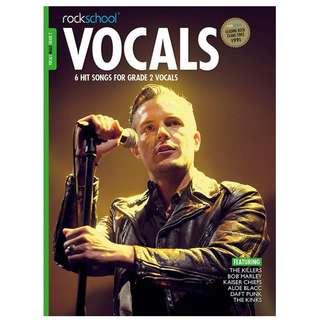 Rockschool Male Vocals Book (Grade 2 / 3 / 4 / 5)