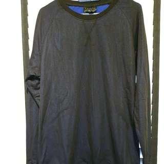 Zalora sport dark blue sweatshirt