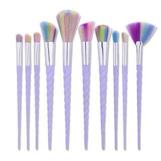 Unicorn Brush 10 set