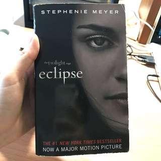 Twilight saga books (New Moon, Eclipse and Breaking Dawn) by Stephenie Meyer
