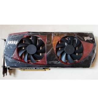 MSI N480GTX lighting Twin Frozr III
