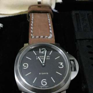 Panerai PAM 562 Base Titanium 8 Days
