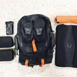 Black Ember Modular Backpack Gen01