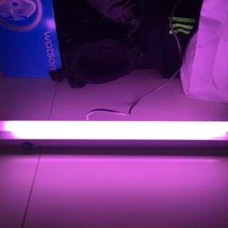 2 ft tanning light for red arowana x2pcs