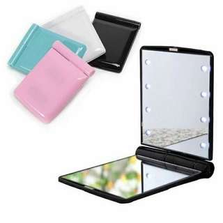 LED Mirror 8 LED easy carry make up mirror