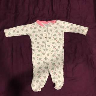 Baby Romper /Long Sleepwear / Baby Girl / Me to You Teddy / Almost New