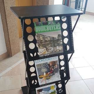 Display Stand for brochures & magazines