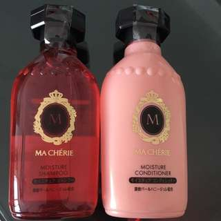 Ma Cherie moisture shampoo and conditioner
