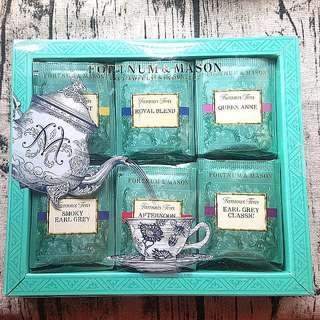英國 Fortnum & Mason (F&M) 皇家御用茶包禮盒