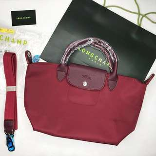 ❗️REPRICED❗️Maroon Longchamp Neo Small