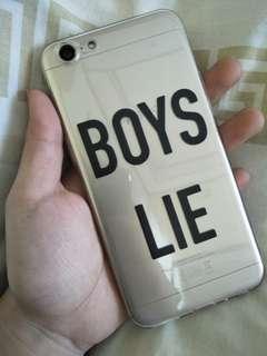 Boys Lie Soft TPU Case