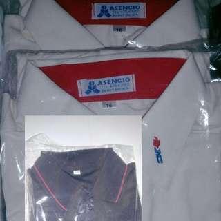 Regent Secondary School uniform & PE Attire & black Polo Tshirt
