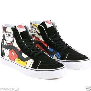 vans Disney Mickey Mouse shoes