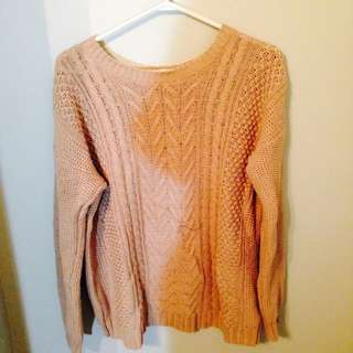 Forever 21 Light Tan Sweater