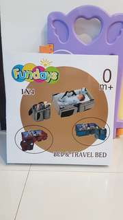 Fundays baby bed & travel bed