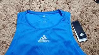 Adidas Running Singlet Climalite Authentic 1000%