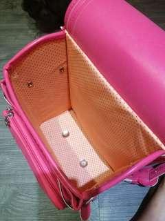 Japan school bag. Pink.