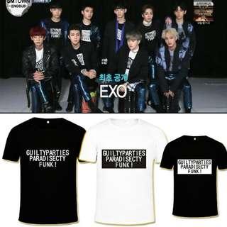 exo t-shirt/tee