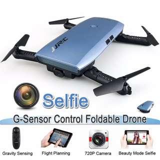 Mini Selfie Drone with Camera HD 720P