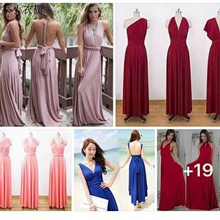 New colors for infinity dress perfect for weddings and prom
