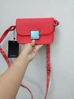 Zara basic sling bag