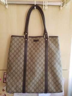 Gucci PVC 側揹袋 / 手挽袋