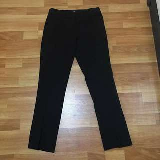 Office pants black