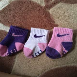 Nike Baby Socks(sets of 3)