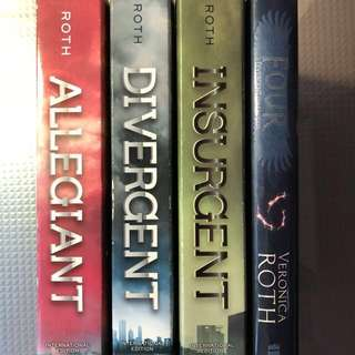 Sci fic storybooks: Divergent series