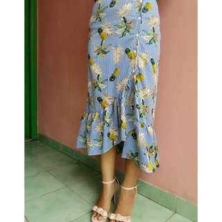 Reprice !! Tropical skirt