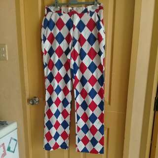 Repriced! Harlequin pants