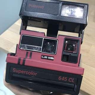 Polaroid supercolor 645 CL (600 film)