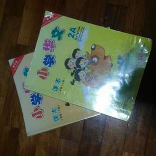 Chinese language textbook for primary 2