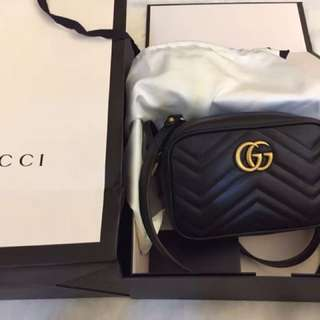 💯 AUTHENTIC Gucci GG Marmont Mini Camera Bag RM4xxx