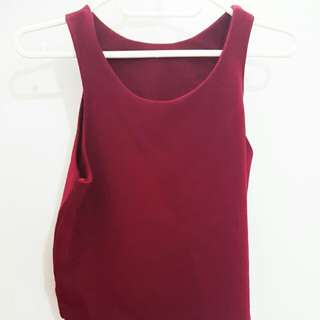 Wine Red Top